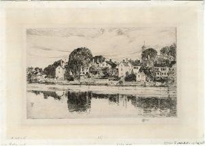Childe Hassam print of Portsmouth