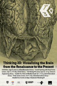 Thinking 3D Exhibition Poster